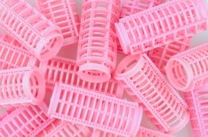 Pink Hair Curlers